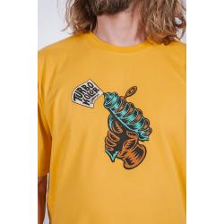 Beach Pack T-shirt Ray Gun - Yellow SS18